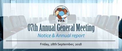 AGM notice and Annual Report 2018