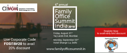 6th Annual Family Office Summit India 2018
