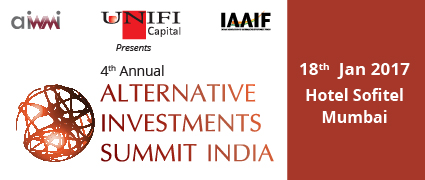 4th annual Alternative Investments Summit India