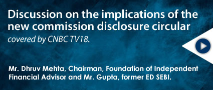 Discussion on the implications of the new commission disclosure circular